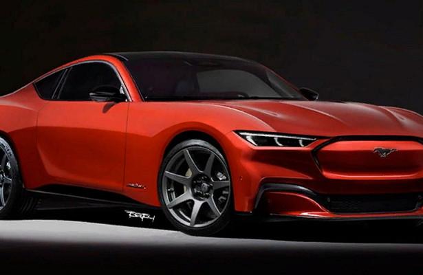 Ford Mustang станет полностью электрическим в2028 году