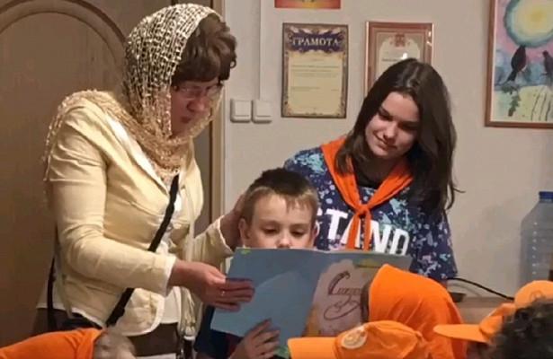 Дети из«Московской смены» посетили экскурсию вЗахарьино