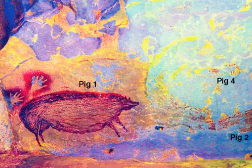 ВИндонезии найдено древнейшее изображение животного