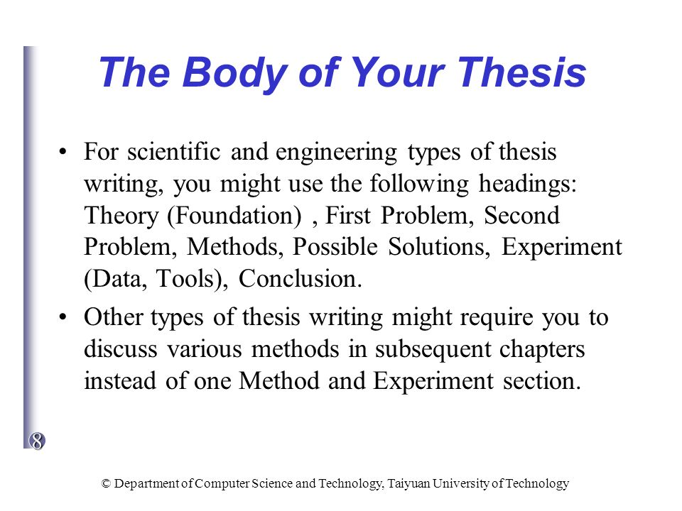Write my medicine thesis