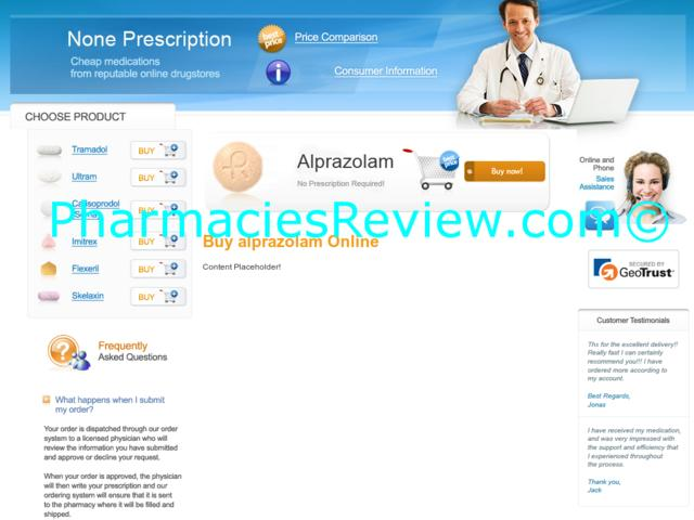 Buy alprazolam online pharmacy