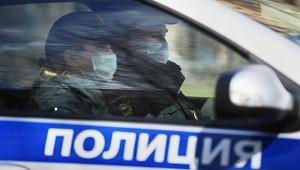 Полицейский автомобиль попал ваварию вПетербурге