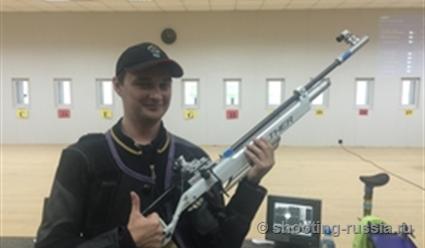 Масленников победил встрельбе изпневматической винтовки натурнире вКраснодаре