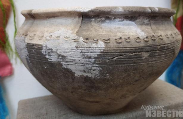 Курский археологический музей представил экспозицию древней керамики