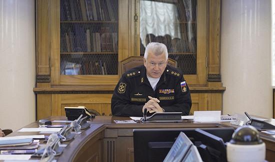 Главком ВМФвСевероморске подведет итоги командно-штабного учения ивстретит фрегат «Адмирал Касатонов»