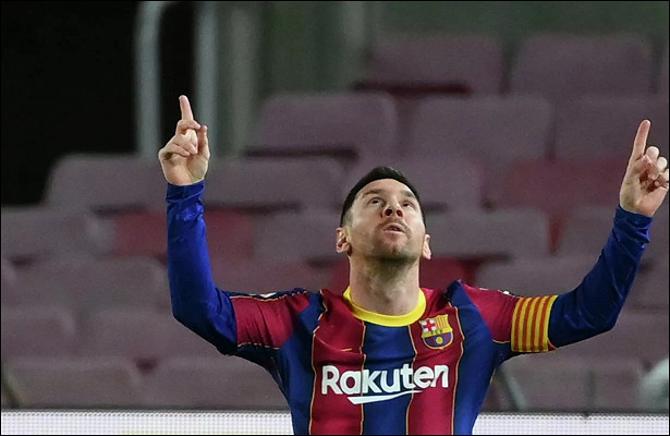 «Барселона» заработала наМесси €619млнс2017 года