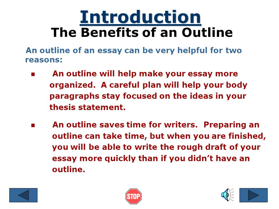 Essay Form and Structure: How to Write an Essay