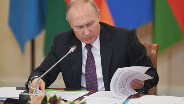 Путин обсудил сСовбезом пандемию иНагорный Карабах