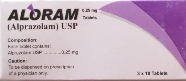 Alprazolam 0.25 mg high