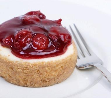 Рецепт Быстрый вишневый чизкейк
