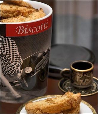 Рецепт Имбирные бискотти сапельсиновой цедрой