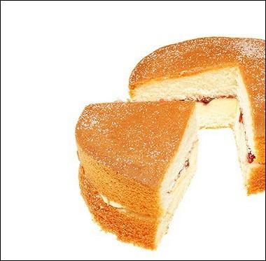 Рецепт Бисквитное пирожное свареньем
