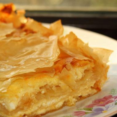 Рецепт Банница (слоенный болгарский пирог)