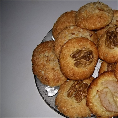 Рецепт Быстрое кокосовое печенье