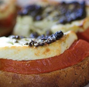 Рецепт Бутерброды смоцареллой
