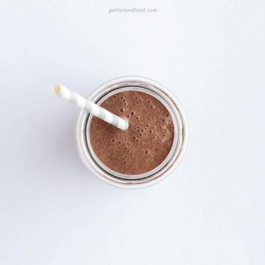 Рецепт Шоколадно-банановый шейк