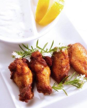 как приготовить куриные крылышки с медом и лимоном