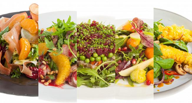 7 легких новогодних салатов с сезонными продуктами