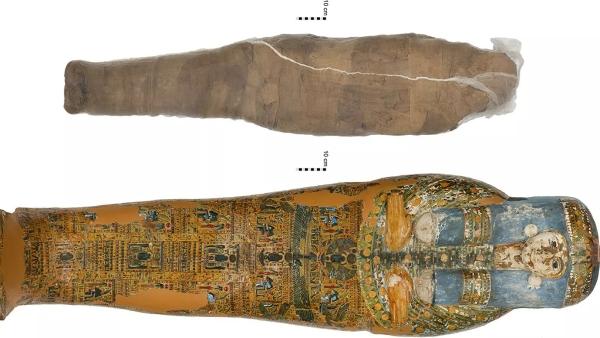 Впервые обнаружена древнеегипетская мумия вглиняной оболочке