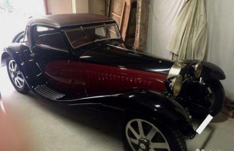 Челябинский коллекционер продает старинный Bugatti за12500 миллионов евро