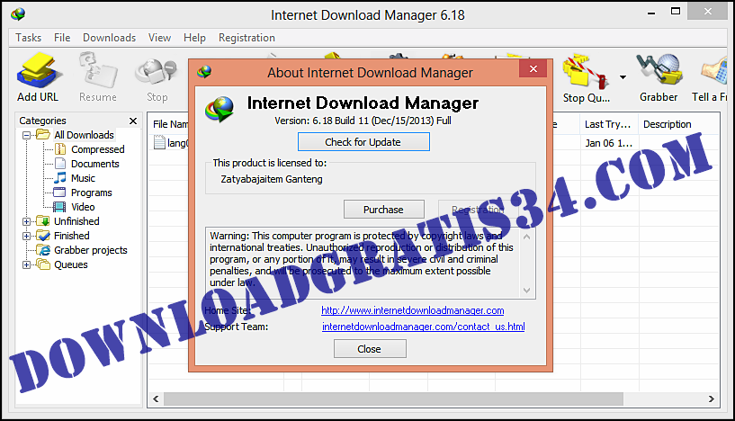 IDM 630 Build 8 Crack Serial Number and Key Free Download