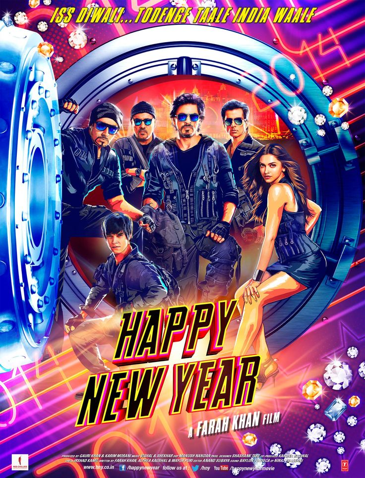 Happy New Year Hindi Movie Mp3 Songs Free Download