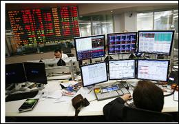 Российский рынок акций растет напозитиве внефтяных котировках