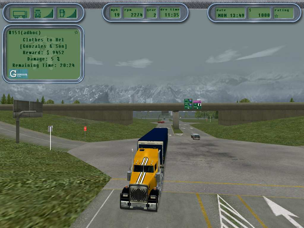Play Free 18 Wheeler 3D Game - Online Games On