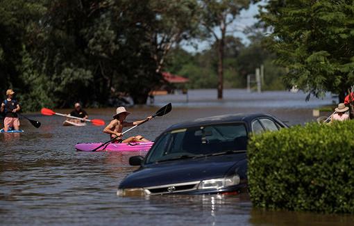 ВАвстралии готовятся кборьбе споследствиями мощного наводнения