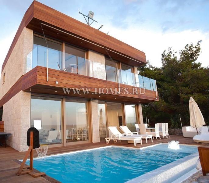 Дом в остров Сими на берегу моря цены недорого