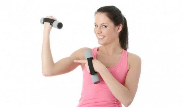 Как быстро похудеть в области плеч и рук