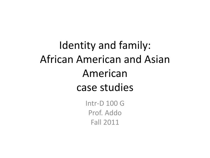 African American Culture Essay - Bartleby