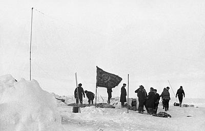 Какспасали ученых сразрушающейся льдины