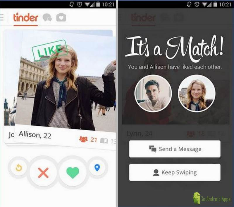 Tinder dating site for android