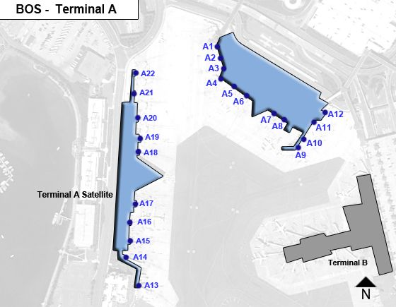 Boston logan terminals