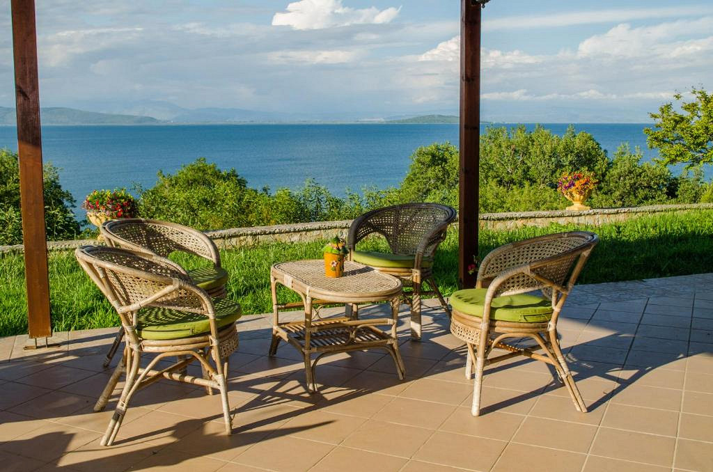 Отель в остров Превеза у моря