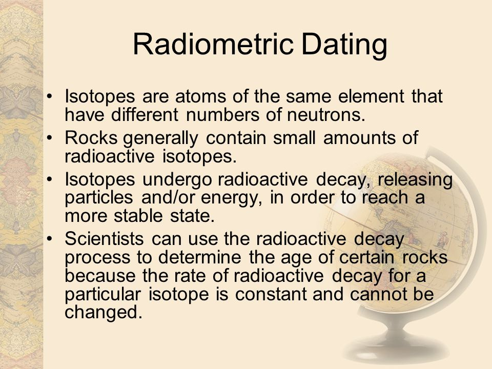 Absolute dating definition science