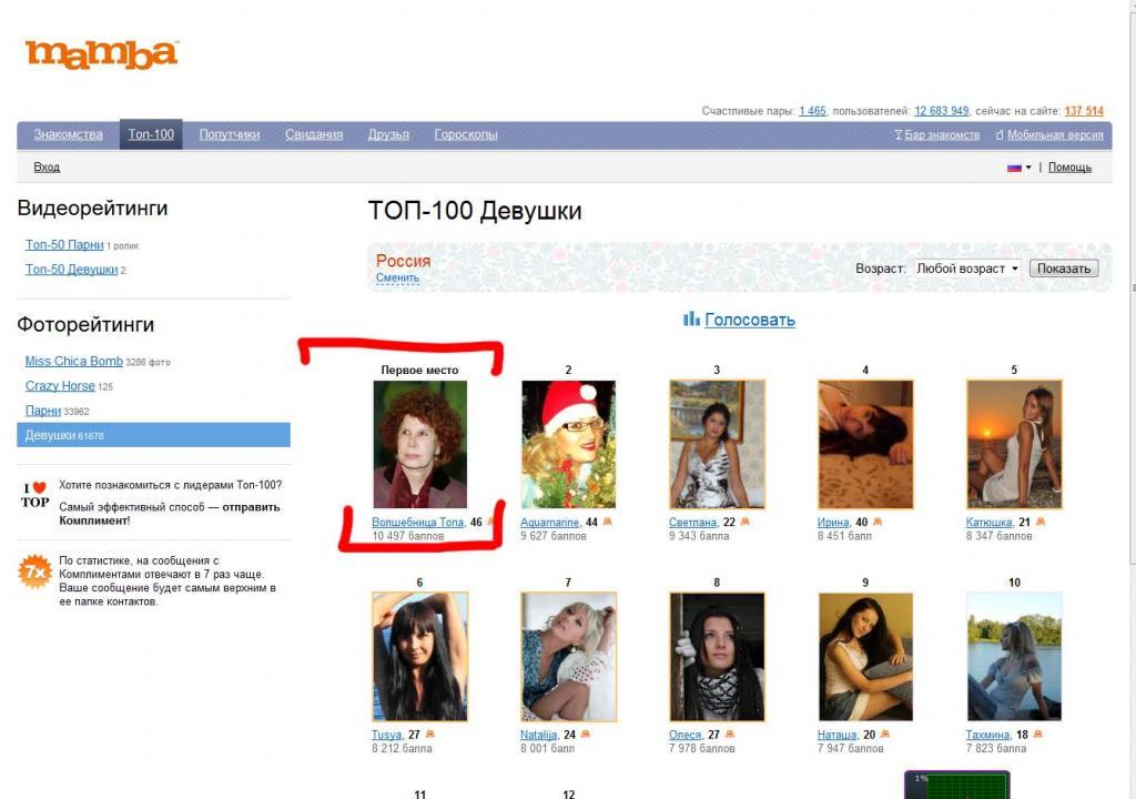 Лучшие сайты знакомства топ 10