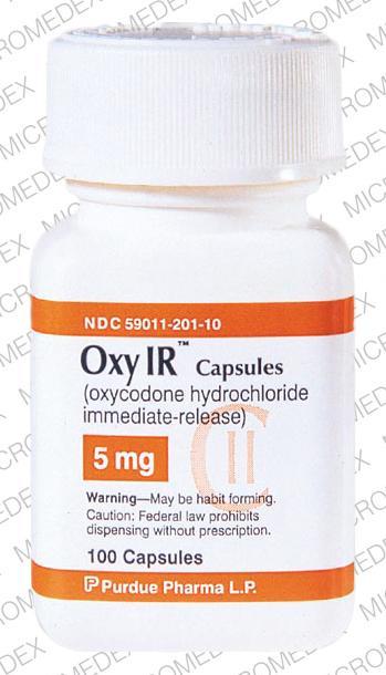 Oxycodone bez recepty