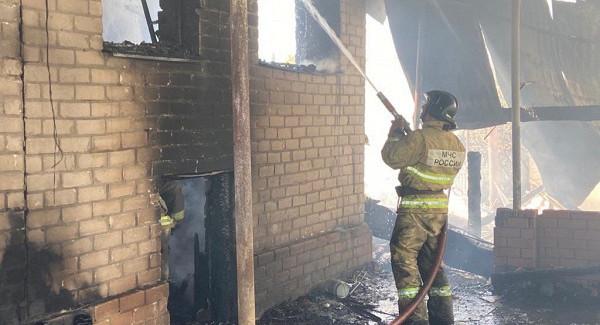 Вовремя пожара вСамарской области 19июня 2021 года погибли двеженщины