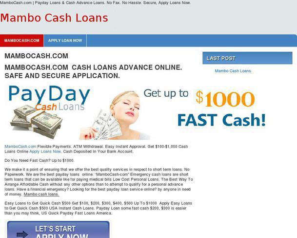Columbus ms payday loan