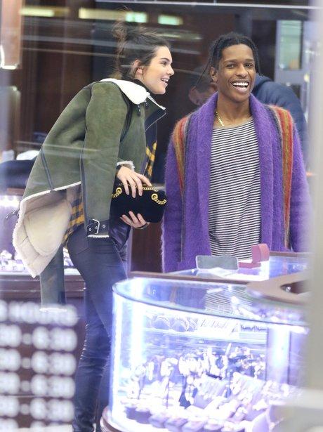 Kendall jenner and boyfriend asap rocky