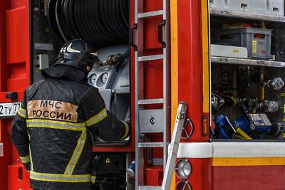 Пожар вбытовках насеверо-востоке Москвы ликвидирован наплощади 50кв. м