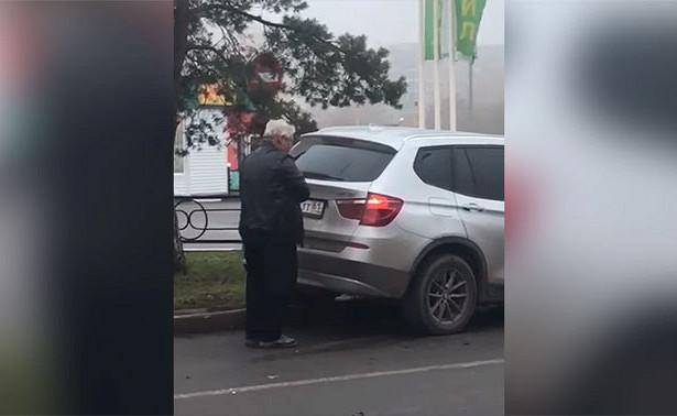 Пьяный судья устроил ДТПподРостовом искрутил номера наглазах уочевидцев