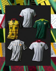 Puma представила новую форму пяти африканских сборных