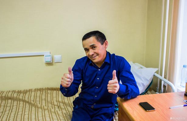 «Будто сердце новое»: новосибирские врачи вылечили коммунальщика снеобычной фамилией
