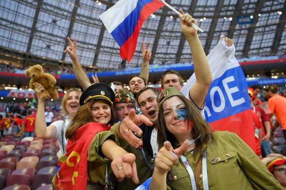 Чемпионат мира вызвал вРоссии «футбольную лихорадку»