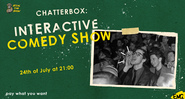 ChatterBox - audience interaction show