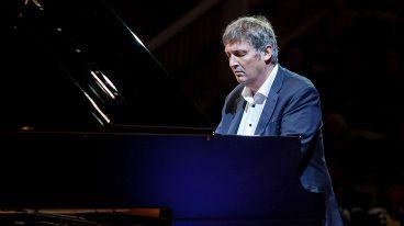 Сергей Крылов (скрипка) и Борис Березовский (фортепиано)